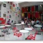 Le bar du FIAP où les cours ont lieu
