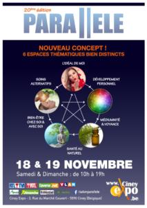 Salon Parallèle 2017 à Ciney Expo