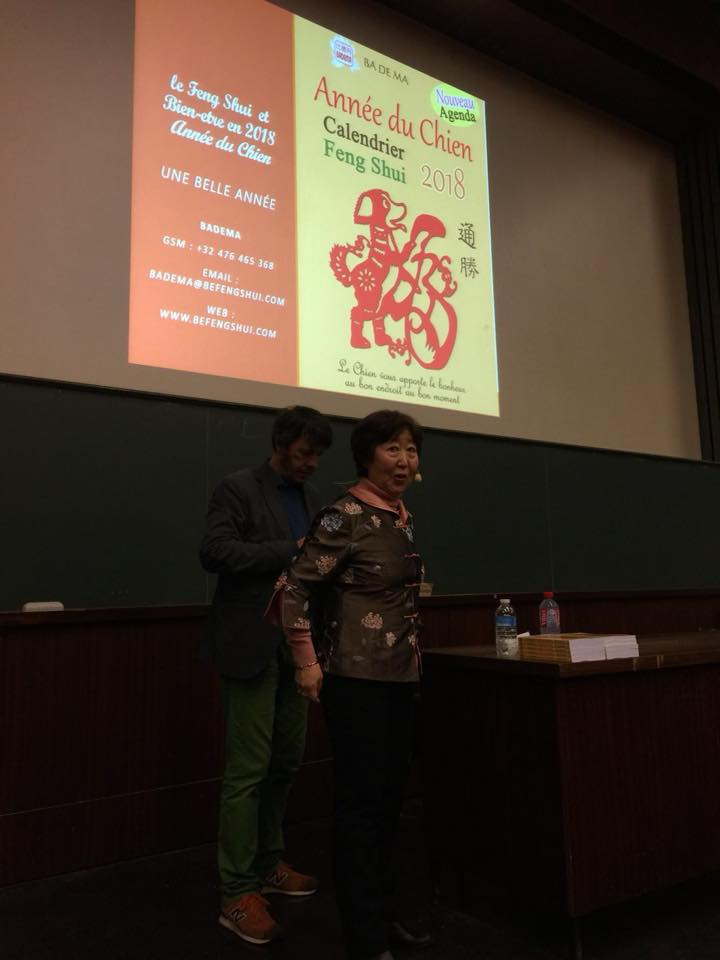 Calendrier Univ Nantes.Photos Conferences Calendrier Feng Shui 2018 L Annee Du